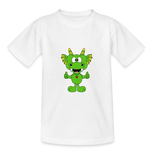 Lustiger Drache - Dragon - Kind - Baby - Fun - Teenager T-Shirt