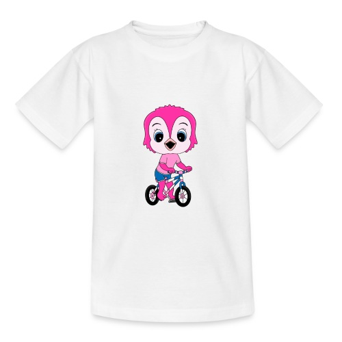 Lustige Eule - Fahrrad - Sport - Kind - Baby - Teenager T-Shirt