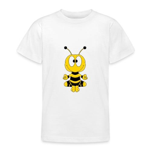Lustige Biene - Yoga - Relax - Chill - Tier - Fun - Teenager T-Shirt