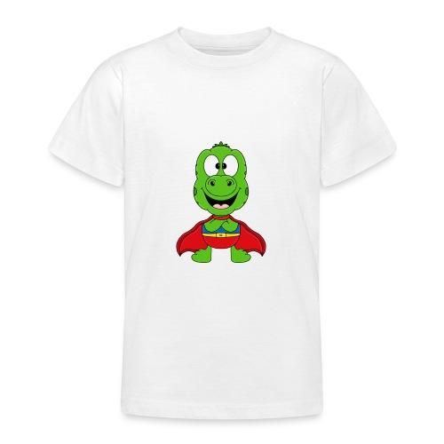 Lustige Echse - Gecko - Superheld - Kind - Baby - Teenager T-Shirt