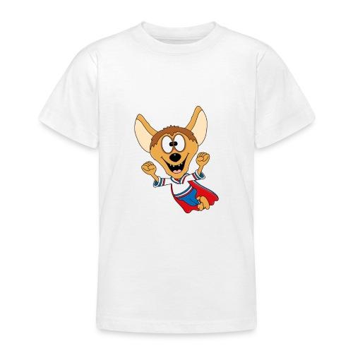 Lustige Hyäne - Superheld - Kind - Baby - Tier - Teenager T-Shirt