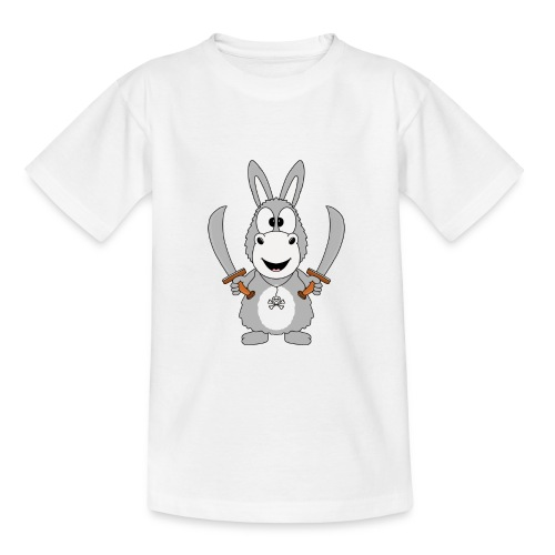 Esel - Pirat - Kinder - Baby - Tier - Fun - Teenager T-Shirt