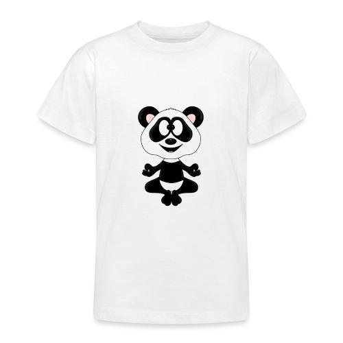 Panda - Bär - Yoga - Chillen - Relaxen - Tierisch - Teenager T-Shirt