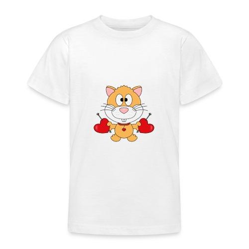 Hamster - Herzen - Liebe - Love - Kind - Baby - Teenager T-Shirt