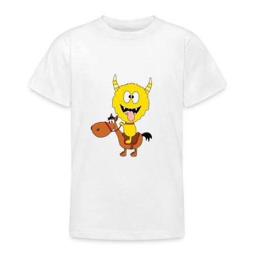 Monster - Pferd - Reiten - Pony - Kind - Baby - Teenager T-Shirt