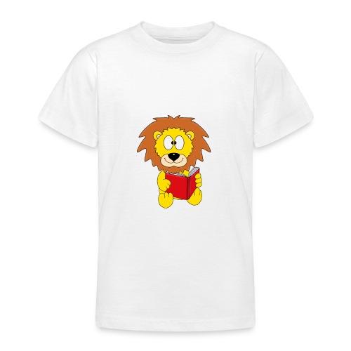 Löwe - Buch - Lesen - Geschichte - Kind - Tier - Teenager T-Shirt
