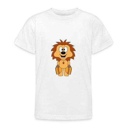 Igel - Koffer - Reise - Urlaub - Ferien - Tier - Teenager T-Shirt