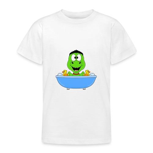 Dinosaurier - Badewanne - Kind - Baby - Fun - Teenager T-Shirt