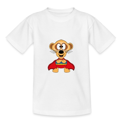 Erdmännchen - Superheld - Kind - Baby - Tier - Teenager T-Shirt