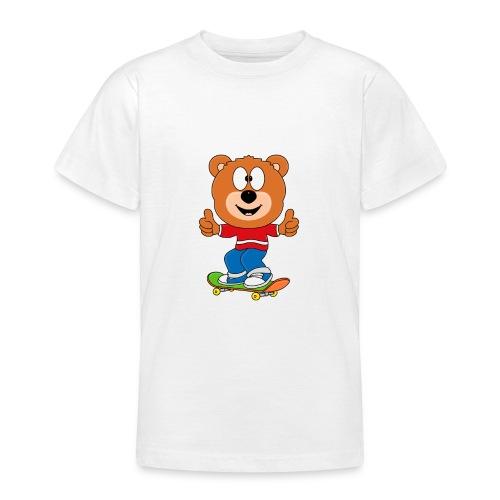 Teddy - Bär - Skateboard - Sport - Kind - Baby - Teenager T-Shirt