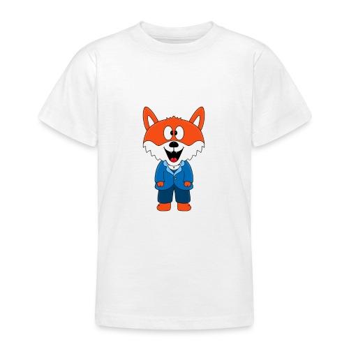 Fuchs - Bräutigam - Hochzeit - Heirat - Tier - Teenager T-Shirt