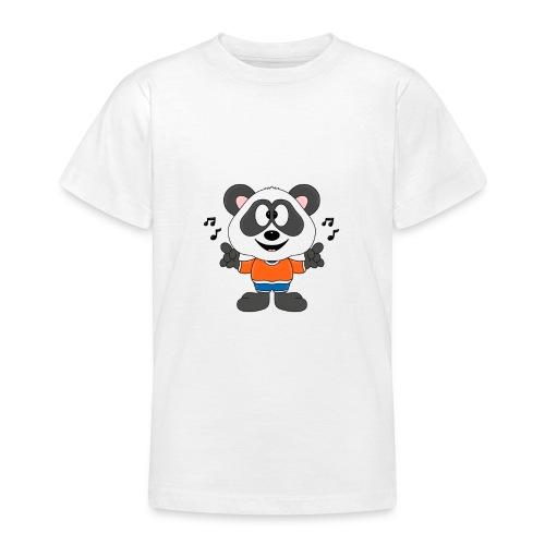 Panda - Bär - Musik - Kind - Tier - Baby - Teenager T-Shirt