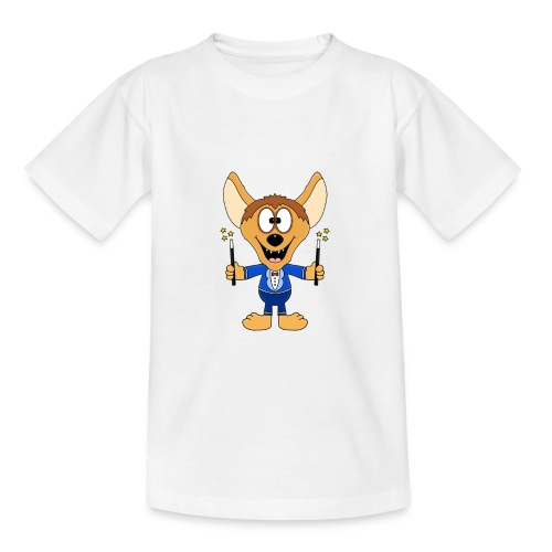 Hyäne - Zauberer - Magier - Tier - Kind - Baby - Teenager T-Shirt