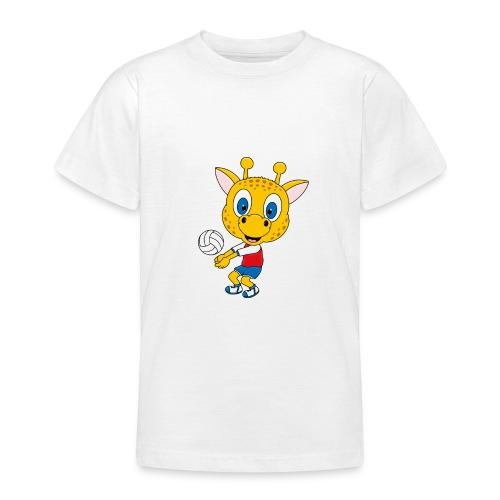 Giraffe - Volleyball - Sport - Tier - Kind - Baby - Teenager T-Shirt