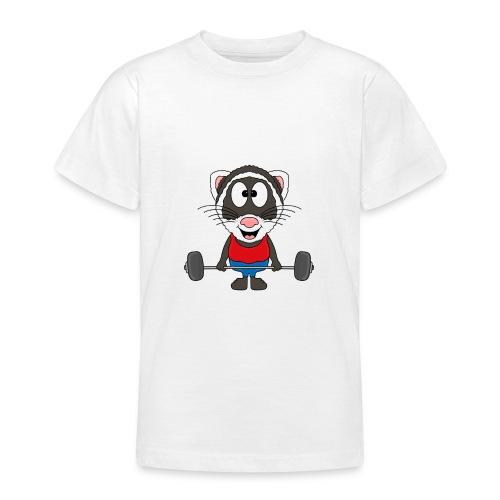 Frettchen - Fitness - Sport - Tier - Kind - Baby - Teenager T-Shirt