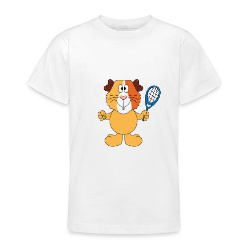 Meerschweinchen - Tennis - Sport - Tier - Kinder - Teenager T-Shirt