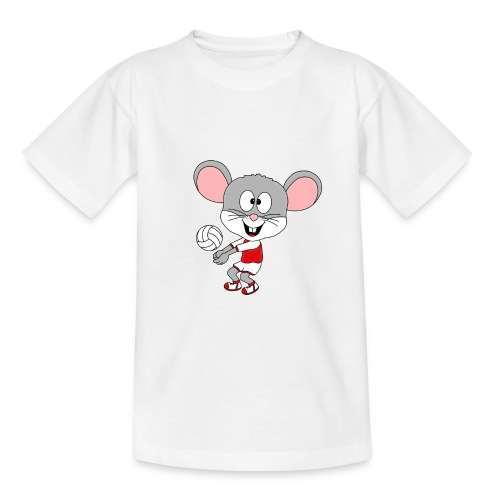 Maus - Volleyball - Sport - Tier - Kind - Baby - Teenager T-Shirt
