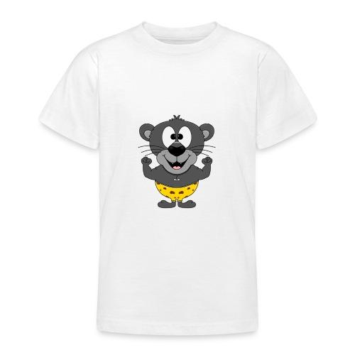 Panther - Fitness - Muskeln - Sport - Tierisch - Teenager T-Shirt