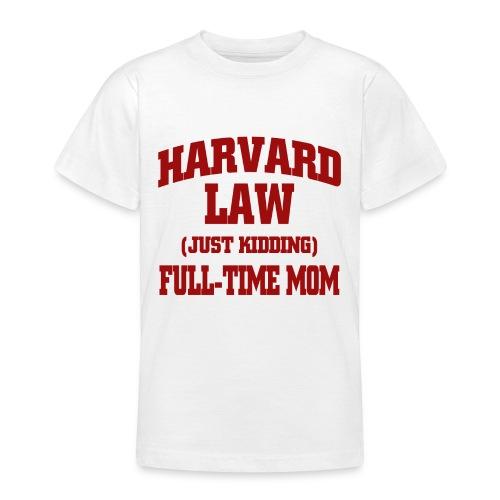 harvard law just kidding - Koszulka młodzieżowa