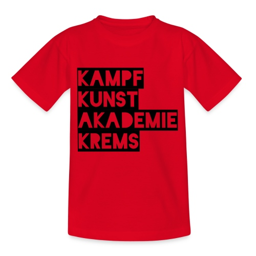KKA 2016 lifestyle back2 - Teenager T-Shirt