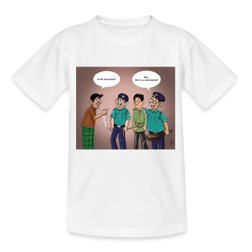 Cartoonist - Teenage T-Shirt