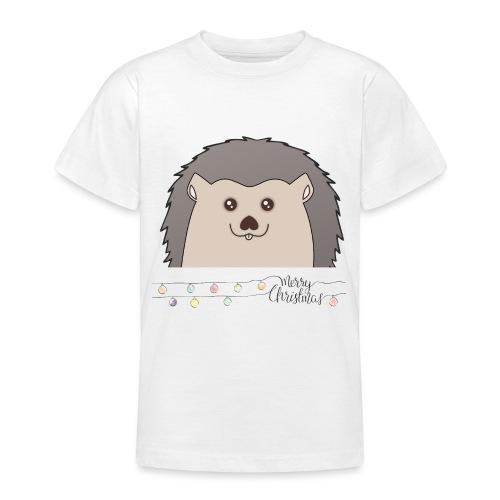 Hed wünscht Merry Christmas - Teenager T-Shirt