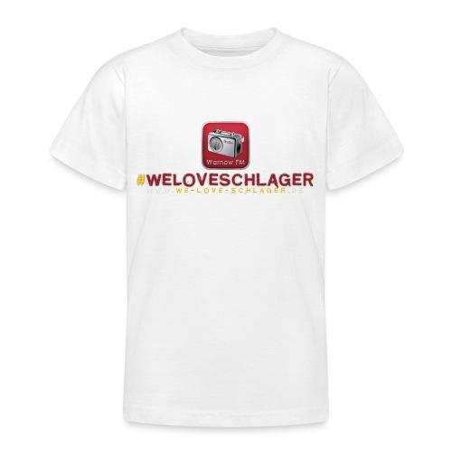 WeLoveSchlager de - Teenager T-Shirt