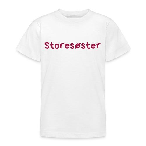 Storesøster - T-skjorte for tenåringer