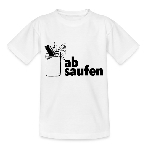 absaufen - Teenager T-Shirt
