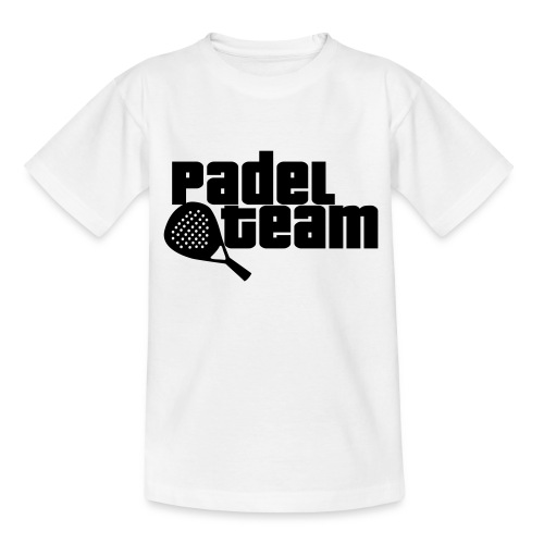 Padel team - Camiseta adolescente