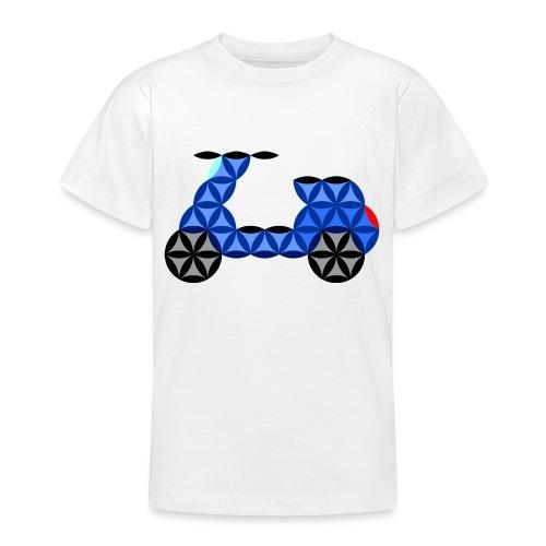 The Motorbike Of Life - Sacred Shape - Teenage T-Shirt
