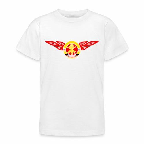 Car flames crest 3c - Teenage T-Shirt