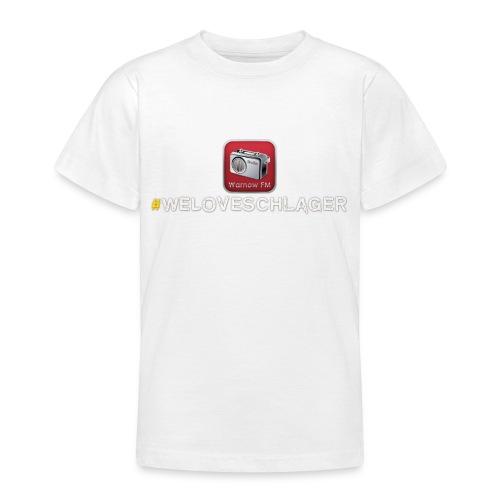 WeLoveSchlager 1 - Teenager T-Shirt