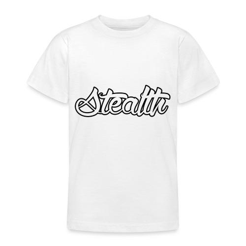 Stealth White Merch - Teenage T-Shirt