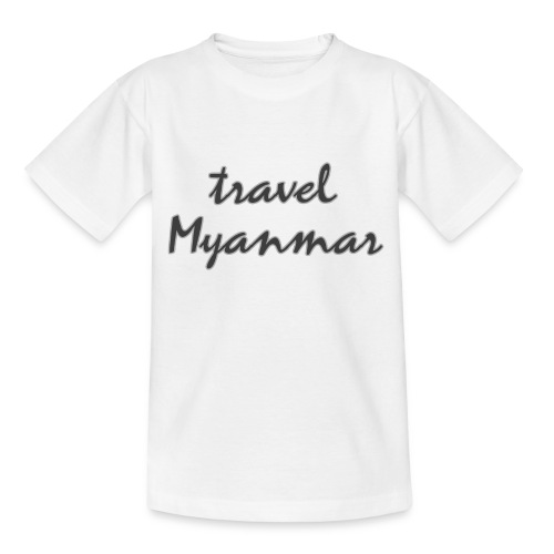 travel Myanmar - Teenager T-Shirt