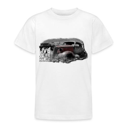 Live a life Oldtimer - Teenager T-Shirt