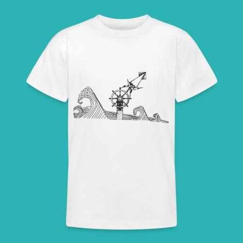Carta_timone-png - Maglietta per ragazzi