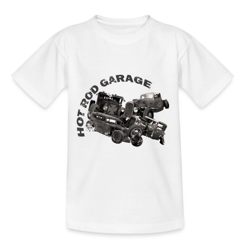 Hot Rod Garage 1 - T-shirt Ado