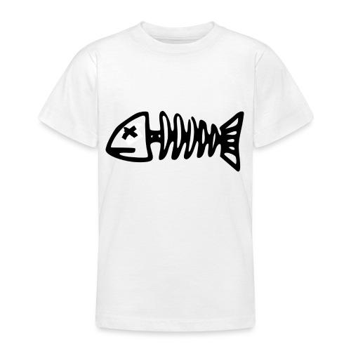 Fish Skeleton - Camiseta adolescente