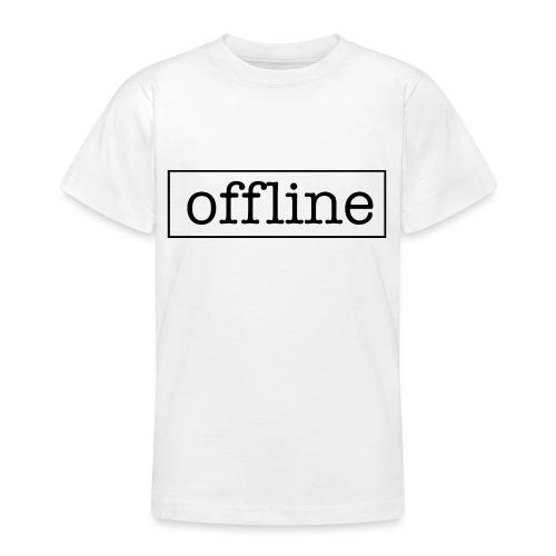Officially offline - Teenager T-shirt