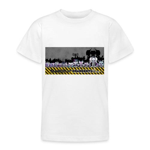 #MarchOfRobots ! LineUp Nr 2 - Teenager-T-shirt