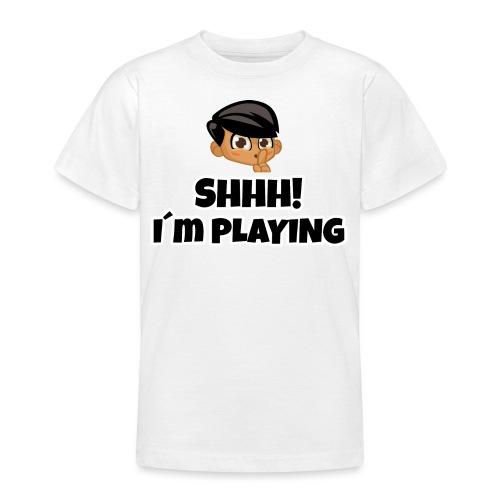 Shhh I'm Playing! Jay trivisk - Teenage T-Shirt