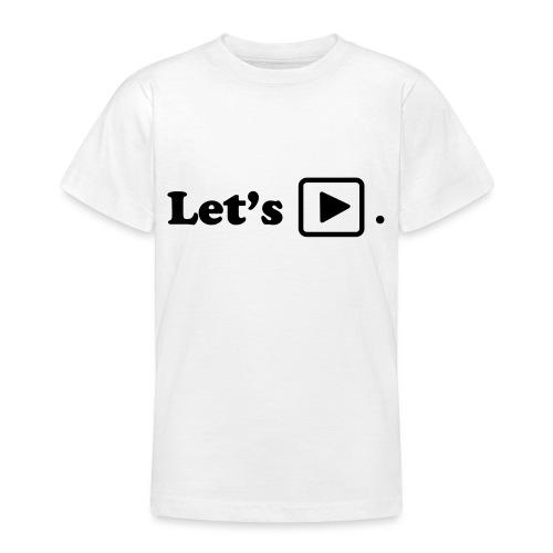 Let's play. - T-shirt Ado