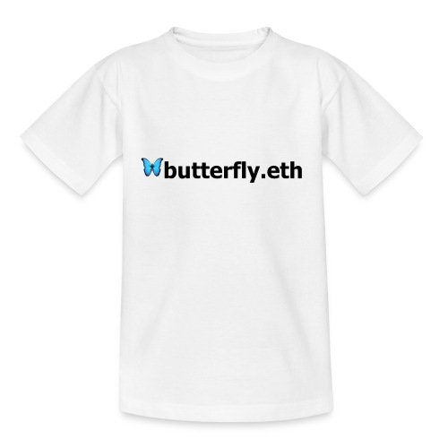 🦋butterfly.eth - Teenager T-Shirt