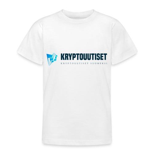Kryptouutiset.net logo - Nuorten t-paita