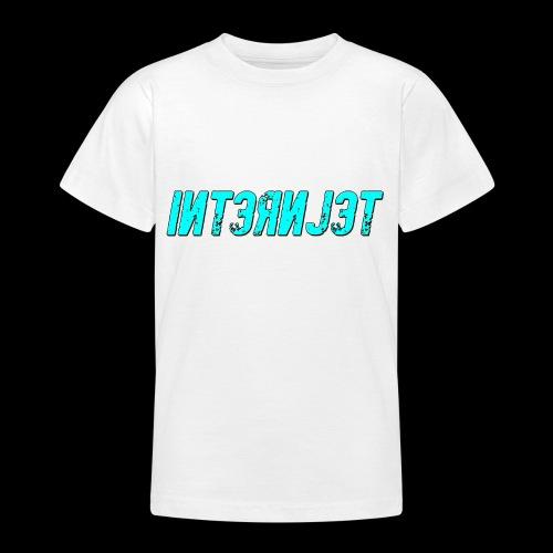 Internjet cyan - Nuorten t-paita