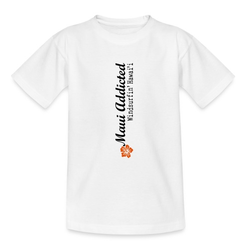 MAddLogoVert ai - Teenage T-Shirt