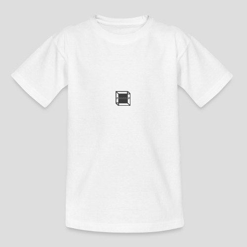 Squared Apparel Black / Gray Logo - Teenage T-Shirt