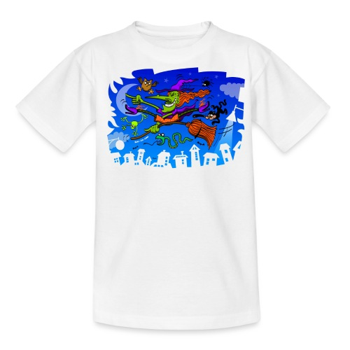 Crazy Witch - Teenage T-Shirt