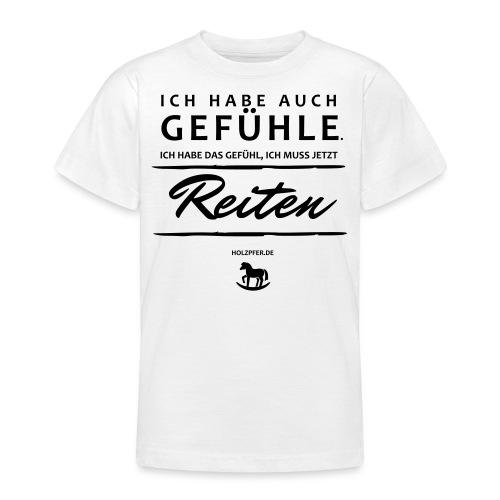 Gefühle - Reiten - Teenager T-Shirt